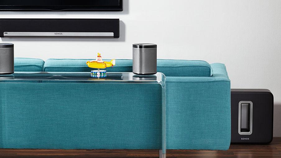 Sonos Wireless Hifi Audio System Amp Wireless Speakers Nyc